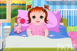 《照顾生病的宝贝》游戏画面1