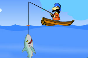 《大叔深海钓鱼》游戏画面1