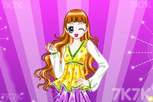 《时尚女王换装》游戏画面1