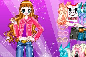 《时尚女王换装》游戏画面5