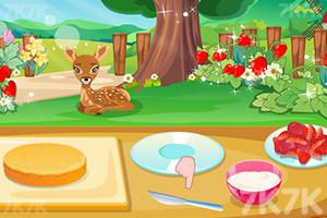《香甜草莓蛋糕》游戏画面2