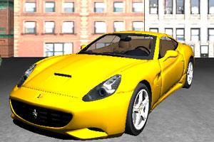 《3D城市跑车停车》游戏画面1
