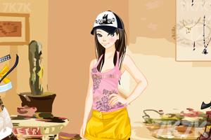 《电眼美女换装》游戏画面4