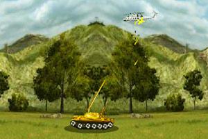《疯狂的坦克打飞机》游戏画面1
