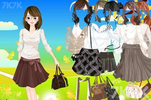 《美女服饰搭配》游戏画面4