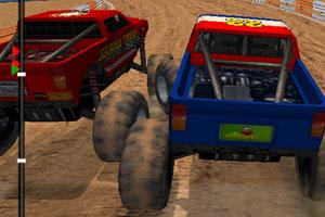 《3D大脚车赛车》截图1