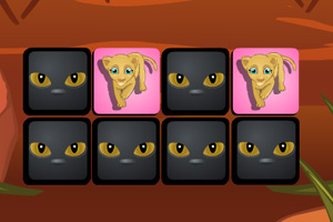 《动物王国翻牌》游戏画面1