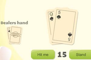 扑克牌21点