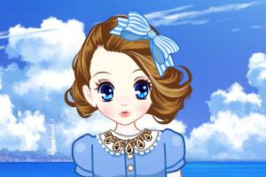 《森迪公主的可爱洋装》游戏画面1