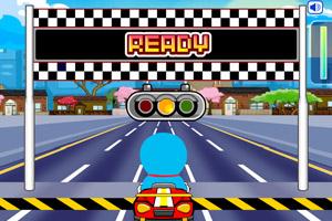 《哆啦A梦东京赛车》游戏画面1