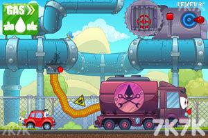 《小汽车总动员3选关版》游戏画面2
