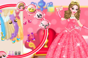 《宫殿花园公主装》游戏画面1