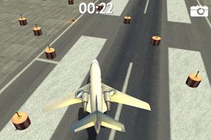 《3D飞机停靠》游戏画面1