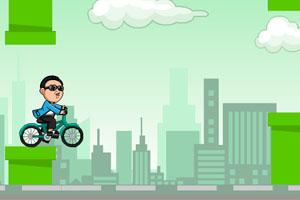 《鸟叔骑单车》游戏画面1