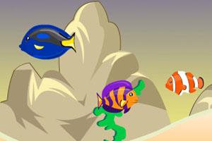 《深海小鱼成长》游戏画面1