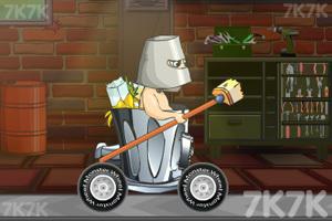 《穿越狂人车赛》游戏画面3
