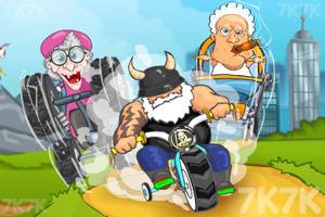 《穿越狂人车赛》游戏画面2