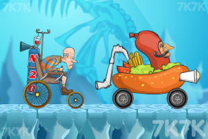 《穿越狂人车赛》游戏画面7