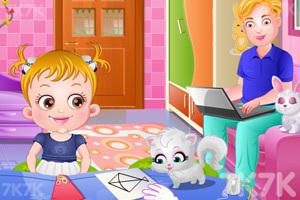 《可爱宝贝放风筝》游戏画面10