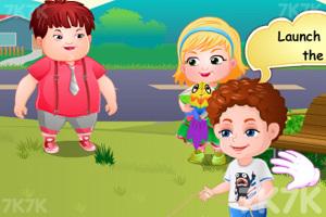《可爱宝贝放风筝》游戏画面5