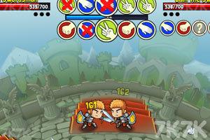 《猜拳英雄》游戏画面3