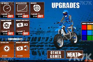 《摩托车拉力赛》游戏画面2