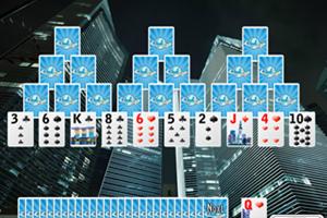 《摩天纸牌接龙》游戏画面1