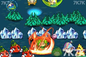 《燃烧的蔬菜2选关版》游戏画面1