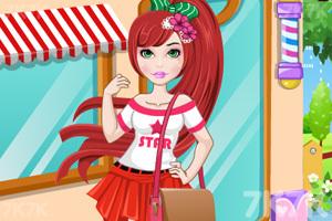 《我的可爱发型》游戏画面1