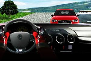 《飙车驾驶赛》游戏画面1