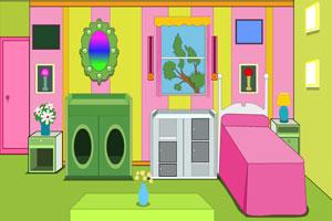 《彩色婴儿房里的逃生》游戏画面1