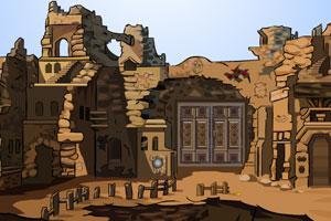 《荒废城堡逃脱》游戏画面1