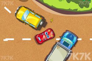 《停靠卡通车》游戏画面2