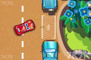 《停靠卡通车》游戏画面3