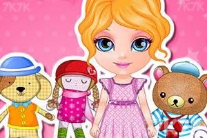 《手工缝制布娃娃》游戏画面4