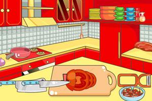 《辛辣牛肉汉堡》游戏画面1