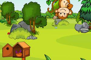 《森林洞穴逃脱》游戏画面1