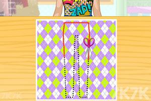 《莎拉的时装设计比赛》截图1