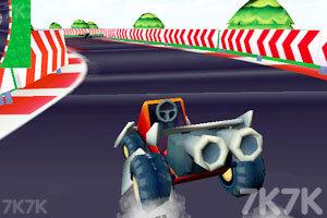 《卡丁车大赛3D》游戏画面1