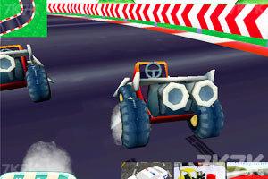 《卡丁车大赛3D》游戏画面2