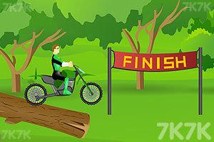 《绿灯侠骑自行车》截图6