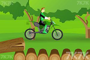 《绿灯侠骑自行车》截图1