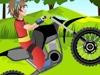 爆丸小子驾驶摩托车