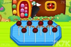《小鹿角巧克力棒棒糖》游戏画面2
