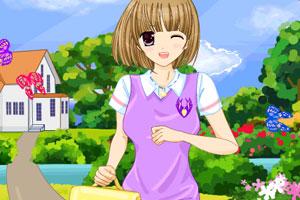 《可爱的高中生》游戏画面1