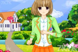 《可爱的高中生》游戏画面3