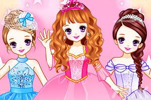 《奢华公主裙》游戏画面1