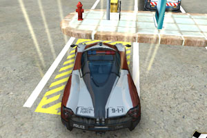 3D警车停车场