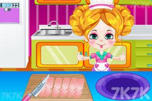 《琪琪做美味的鱼肉条》截图2