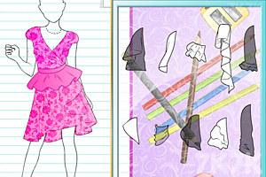 《设计伴娘礼服》游戏画面1